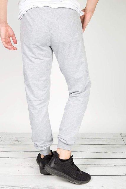 Spodnie męskie, dresowe, szare.